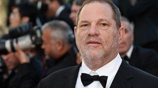 Harvey Weinstein s'apprête à monter les marches du Festival de Cannes (Alpes-Maritimes), le 22 mai 2015. (LOIC VENANCE / AFP)