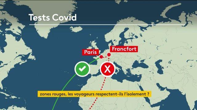 Coronavirus : l'isolement des voyageurs en question