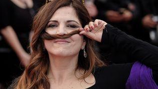 Agnès Jaoui, festival de Cannes 2017  (Julie Edwards / Photoshot / B4171 / NurPhoto)
