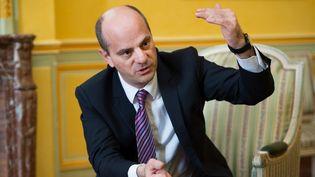 Le ministre de l'Education Jean-Michel Blanquer, alors directeur de l'Essec, le 19 mars 2014 à Paris. (SIPA)