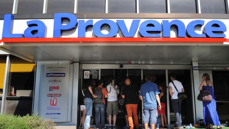 Le siège du quotidien La Provence (ANNE-CHRISTINE POUJOULAT / AFP)