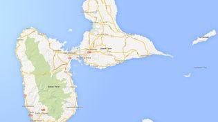 Guadeloupe ( GOOGLE MAPS / FRANCETV INFO )