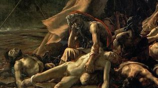 """Le 25 août 1819, Theodore Géricault présentait à Paris sa plus célèbre toile, """"Le Radeau de La Méduse"""". Retour sur l'histoire de ce chef-d'œuvre.  (France 2)"""