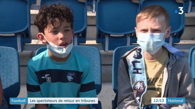 Football : les supporters de retour en tribunes