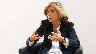 Valérie Pécresse, en mai 2018, à Paris. (DANIEL PIER / NURPHOTO / AFP)