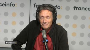 Antoine de Maximy invité de franceinfo vendredi 8 octobre. (FRANCEINFO / RADIOFRANCE)