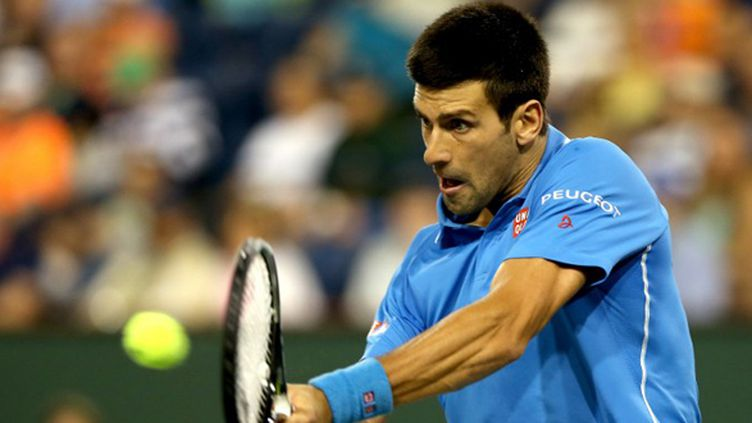 Novak Djokovic à indian Wells (MATTHEW STOCKMAN / GETTY IMAGES NORTH AMERICA)