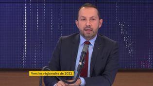 Sébastien Chenu, porte-parole du Rassemblement National et député de la 19e circonscription du Nord, sur franceinfo le 18 novembre 2020. (FRANCEINFO / RADIOFRANCE)
