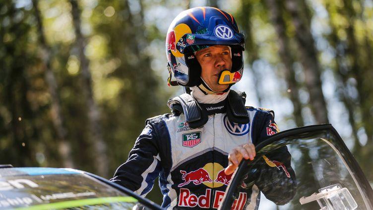 Sébastien Ogier (Volkswagen) dans les starting-blocks (BASTIEN BAUDIN / AUSTRAL)