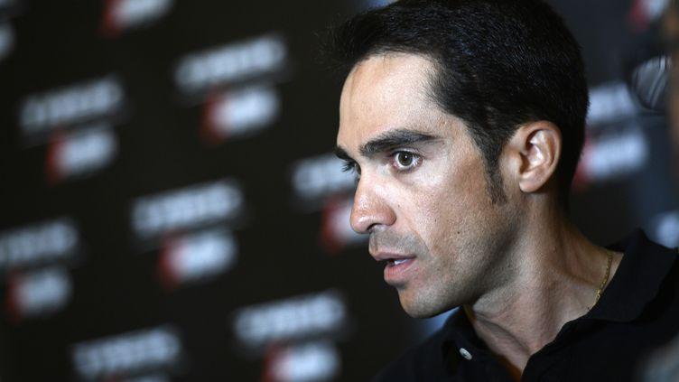 Alberto Contador. (YORICK JANSENS / BELGA MAG)