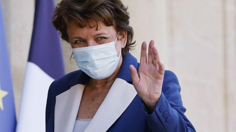 La ministre de la Culture Roselyne Bachelot, arrivant à l'Elysée le 19 juillet 2021. (LUDOVIC MARIN / AFP)