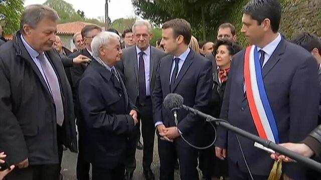 Macron à Oradour-sur-Glane rend hommage aux victimes du massacre