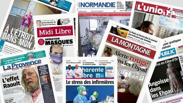 Coronavirus : la presse quotidienne régionale à l'heure du confinement
