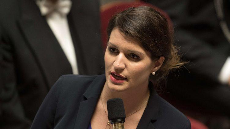 Marlène Schiappa en novembre 2017 à l'Assemblée nationale.  (PDN/SIPA)