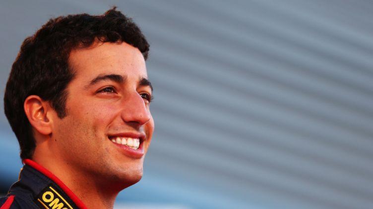 Le pilote australien Daniel Ricciardo (PAUL GILHAM / GETTY IMAGES EUROPE)