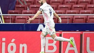 Karim Benzema buteur contre l'Atletico (JAVIER SORIANO / AFP)