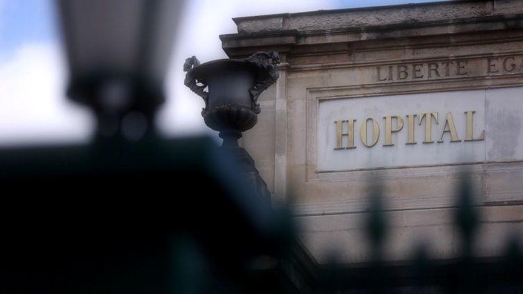 Hopital  (CAPTURE D'ÉCRAN FRANCE 2)