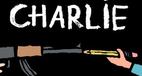 Dessin de Mark Ruffalo posté sur son compte Twitter en hommage aux victimes de l'attentat contre Charlie Hebdo  (Mark Ruffalo)