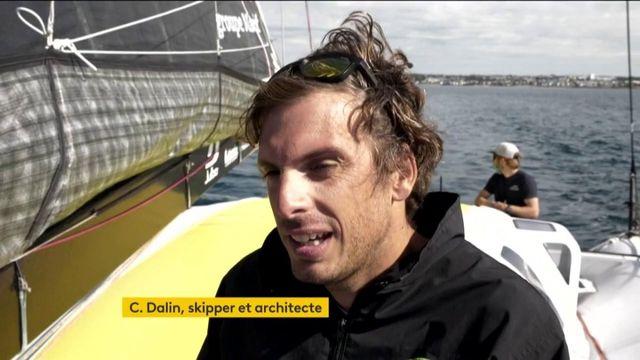 Vendée Globe : Charlie Dalin, skipper et architecte mais surtout vedette en Normandie