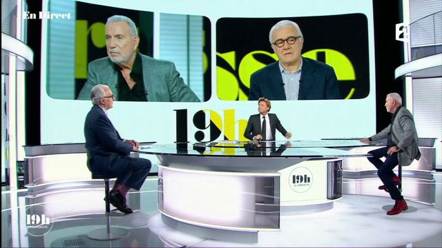 """VIDEO. """"19h le dimanche"""". Alain Ducasse et Bernard Lavilliers parlent des migrants, des paysans, du travail... et de """"Jean-Luc"""""""