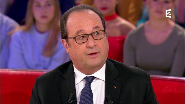 """François Hollande : """"Je ne suis pas rentré au Bataclan"""""""