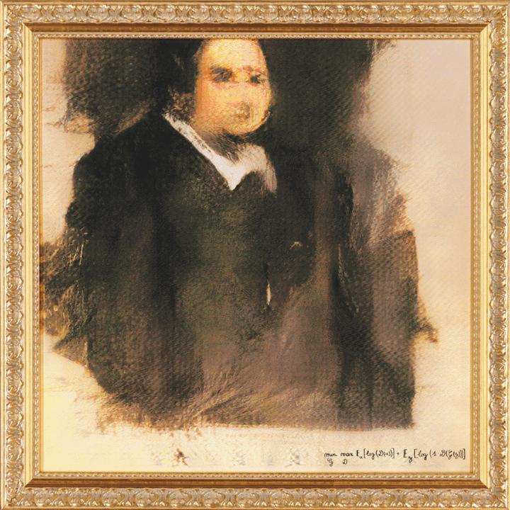 Le programme qui a permis de produire les portraits de la famille de Belamy s'appelle GAN, pour Generative adversarial network.  (Obvious Art)