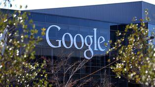 Le siège de Google à Mountain View (Californie), le 30 janvier 2014. (JUSTIN SULLIVAN / GETTY IMAGES NORTH AMERICA / AFP)