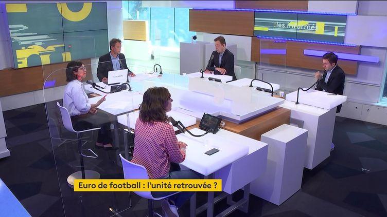 Le plateau des Informés du matin du 11 juin 2021 sur franceinfo. (FRANCEINFO / RADIO FRANCE)