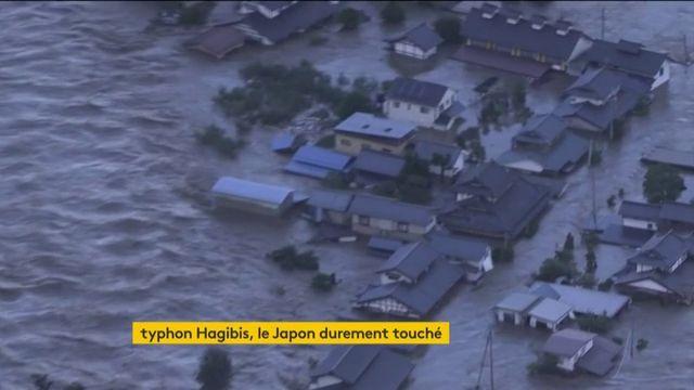 Japon : le typhon Hagibis a tout détruit sur son passage en plein Mondial de rugby