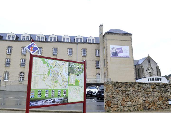 Le lycée Saint-Gabriel de Saint-Laurent-sur-Sèvre où était scolarisé Sébastien Troadec. (MAXPPP)