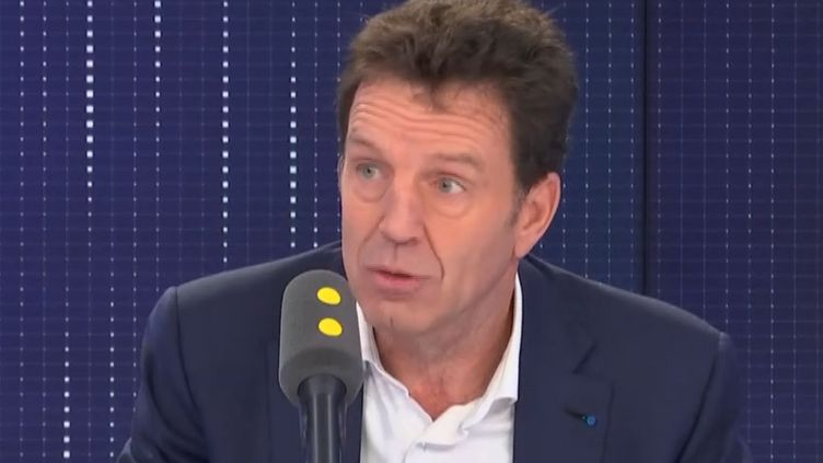 Geoffroy Roux de Bézieux était l'invité de franceinfo vendredi 22 novembre. (FRANCEINFO / RADIOFRANCE)