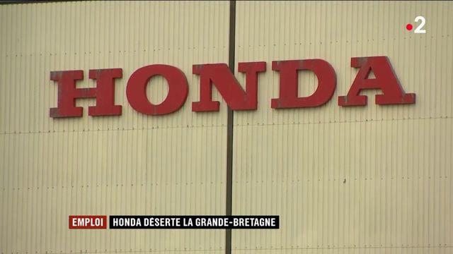 Emploi : Honda déserte la Grande-Bretagne