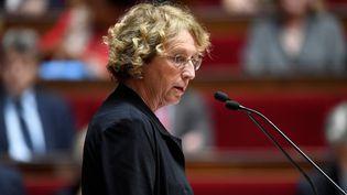 Muriel Pénicaud, la ministre du Travail, le 10 juin 2017 à l'Assemblée nationale. (BERTRAND GUAY / AFP)