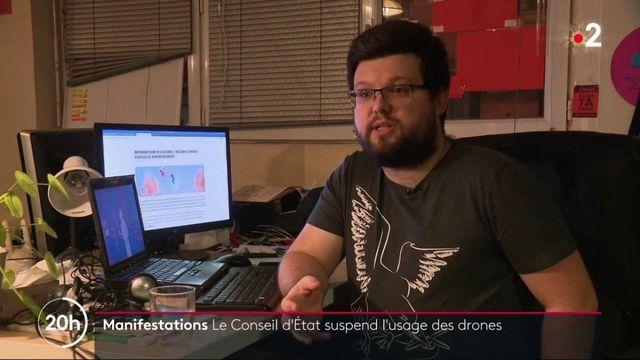Manifestations : le Conseil d'état interdit l'utilisation des drones par les policiers