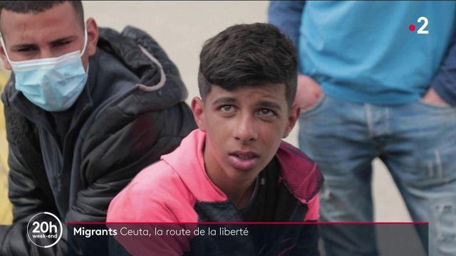 Migrants : à Ceuta, l'espoir de la liberté
