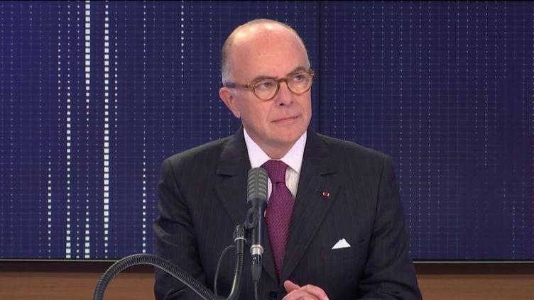 """Bernard Cazeneuve, ancien Premier ministre et ministre de l'Intérieur, était l'invité du """"8h30 franceinfo"""" du mercredi 2 septembre 2020. (FRANCEINFO / RADIOFRANCE)"""