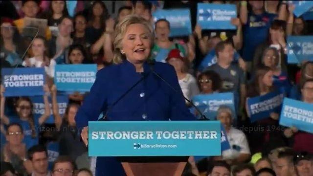 Trump et Clinton abattent leurs dernières cartes