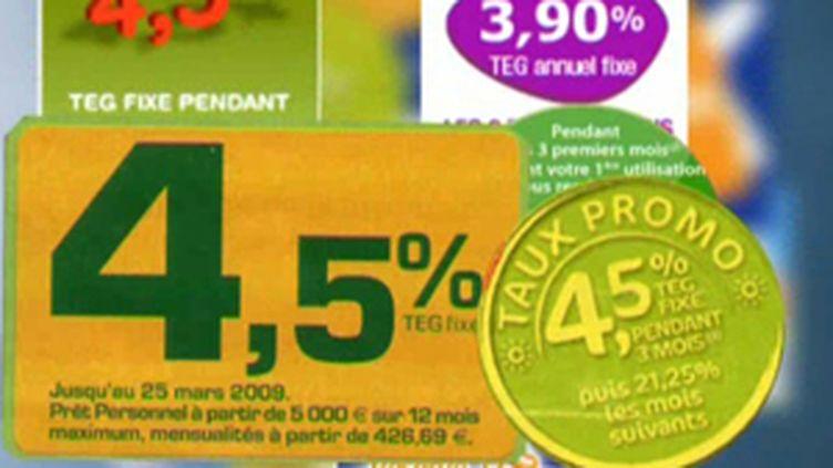 Les offres de crédits à la consommation foisonnent. (© France)