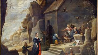 """""""La Tentation de Saint-Antoine""""parDavid Teniers le Jeune(1610-1690) (Wikipedia, domaine public)"""