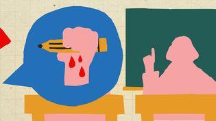 Avant la rentrée du 2 novembre 2020, franceinfo a interrogé des enseignants via un appel à témoignages pour savoir comment ils se préparaient à ce moment particulier. (JESSICA KOMGUEN / FRANCEINFO)