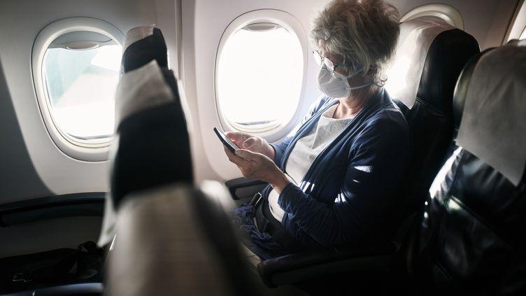 Les avions développent une technologie poussée pour éviter la contamination de l'air par des virus ou des bactéries. (Illustration) (ADENE SANCHEZ / E+ / GETTY IMAGES)