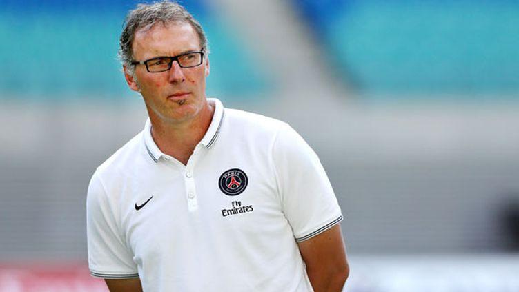 L'entraîneur du PSG Laurent Blanc