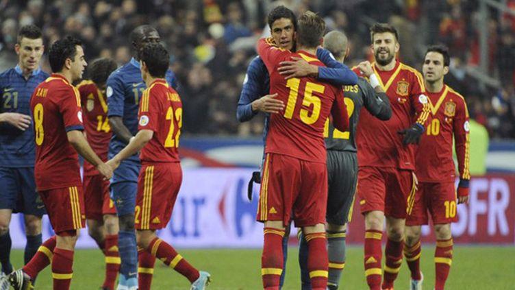 En mars 2013, l'Espagne avait battu la France 1-0 au Stade de France (JEAN MARIE HERVIO / DPPI MEDIA)