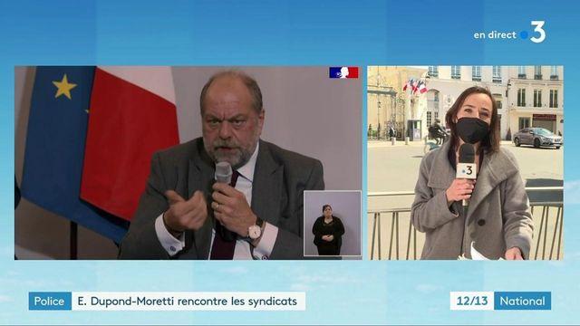 Forces de l'ordre : Éric Dupond-Moretti a rencontré les syndicats de police
