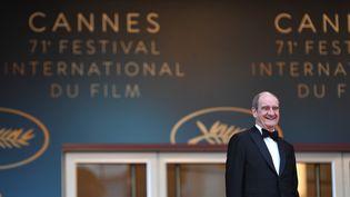 Le président du festival de Cannes Pierre Lescure, à Cannes le 13 mai 2018. (MUSTAFA YALCIN / ANADOLU AGENCY /  AFP)