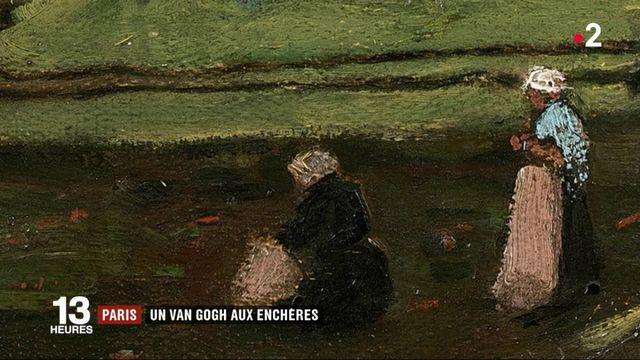 Paris : un van Gogh aux enchères