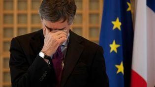 L'ancien ministre du Budget, Jérôme Cahuzac, le 23 janvier 2013. (SIPA)