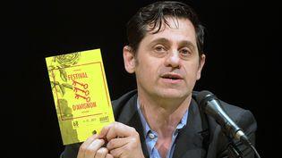 Olivier Py en Avignon le 20 mars 2014  (Bernard Langlois/AFP)