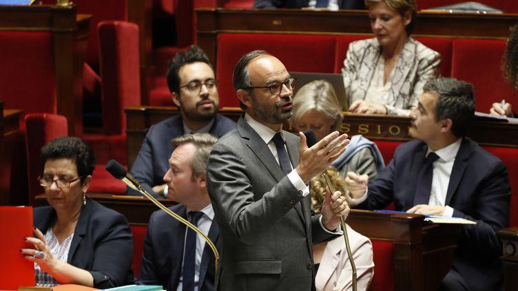 Edouard Philippe devant les députés à l'Assemblée nationale, le 7 novembre 2017  (FRANCOIS GUILLOT / AFP)