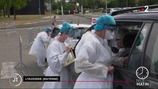 Des dépistages en Mayenne. (France 2)